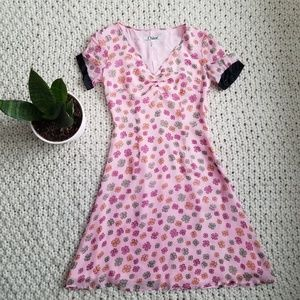 Chloe Leaf Clover Print Dress Size 6